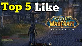 Top 5 Best World of Warcraft Like Games for Android of All Time