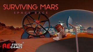 #8 Защита от метеоритов - Surviving Mars: Space Race DLC  (Сложность 1075%)