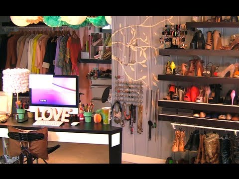 Closet/Office/Vanity Tour!
