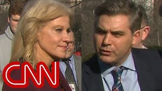 Jim Acosta presses Conway: Will Trump tell the truth?