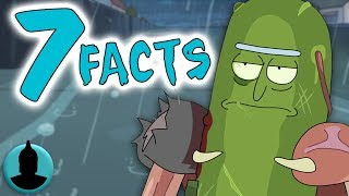 """7 Facts About Pickle Rick!! - Rick and Morty Season 3 Episode 3 """"Pickle Rick"""" - (Tooned Up S4 E44)"""