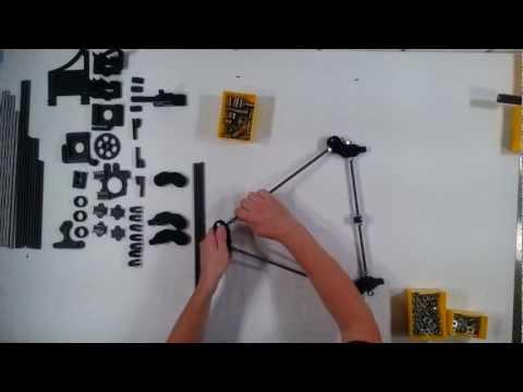 RepRap Prusa Mendel Iteration 2 Assembly 01 - Frame Sides