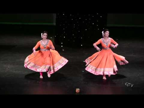 Manpreet and Naina  Warrior Bhangra 2014