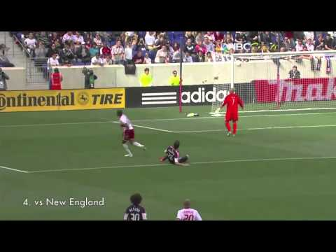 Thierry Henry Top 5 Goals - MLS Season 2012 HD