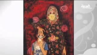 الفنانة الكويتية شروق أمين ولوحات مثيرة للجدل