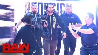 "Seth Rollins crashes ""The Highlight Reel"" to confront Kevin Owens: Raw, Sept. 26, 2016"