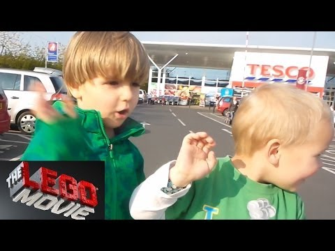 Just a Little Tesco Shopping in Scotland - The Lego Movie