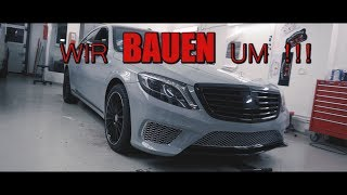 Let's do this ! Umbau auf AMG - NARDO GRAUE SKLASSE | Folienprinz