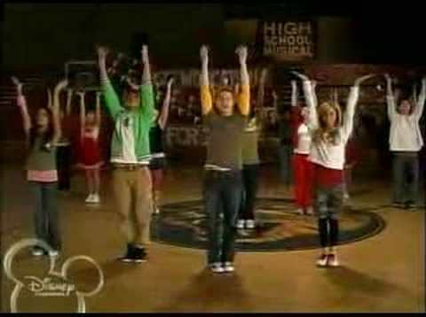 High School Musical Dance Along - We're All In This Together
