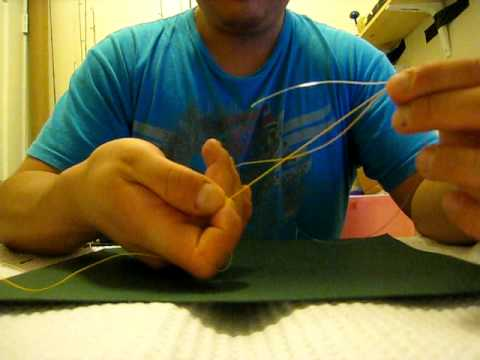 How to tie the Sebile Knot. FG Knot. Jigging Knot. Popping Knot. Seamless Knot