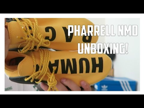 Unboxing From Pharrell Williams! NMD + Stan Smith!