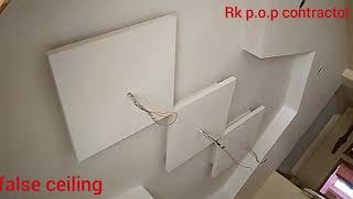 Best pop false ceiling design -video- Rk p.o.p contractor