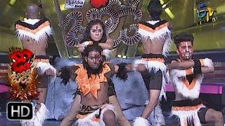 Vinay and Rishika Performance | Dhee Jodi | 22nd March 2017 | ETV Telugu