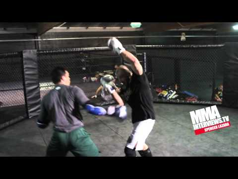 Lyoto Machida highlight video sparring with Glover Teixeira in UFC preparation at Blackhouse MMA Image 1