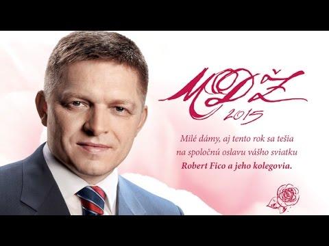Robert Fico a jeho MDŽ 2015