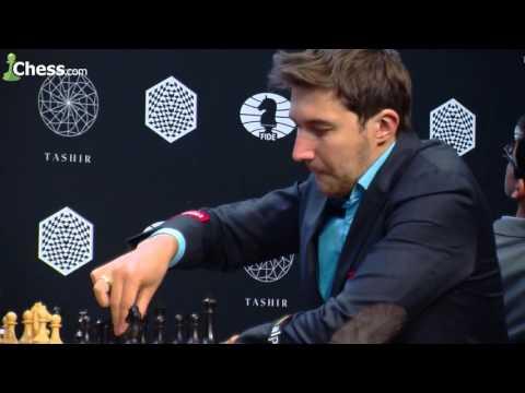 FIDE Candidates' Tournament: Viswanathan Anand vs Sergey Karjakin