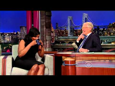 Mindy Kaling Letterman 2014 01 10 720p