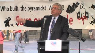 Mr Laurie Ferguson MP at Coptic Protest Sydney 14.04.2013