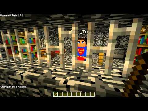 Minecraft: A prisão e os reclusos!
