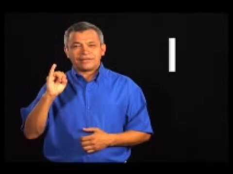 Lenguaje de señas: El Abecedario