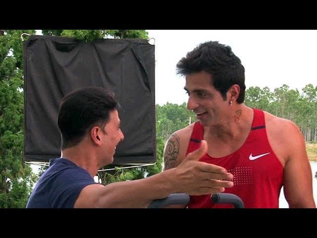 Sonu Sood Talks Non Stop - Behind the Scenes Making  Its Entertainment