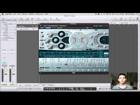 Logic Pro 9 Tutorial - Gated Synths