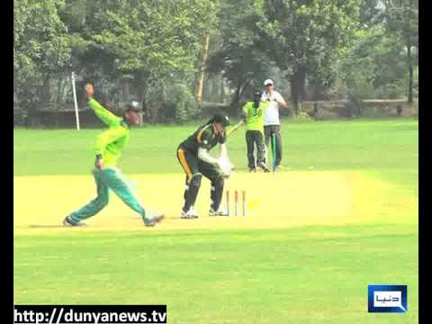 Dunya News  - Pak women's cricket team Practice - 09-12-2012