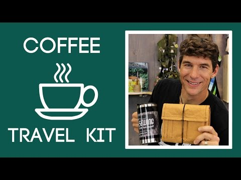 Make a Coffee Travel Kit out of Kraft-tex