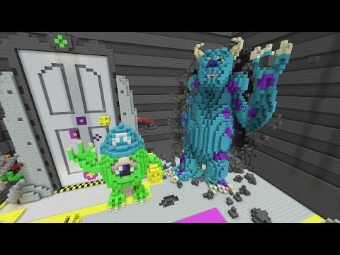 Minecraft Xbox — Disney Pixar — Hunger Games