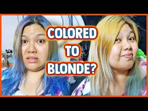HAIR COLOR AT HOME | L'OREAL PARIS EXCELLENCE FASHION GOLDEN BEIGE BLONDE | Bing Vlogs