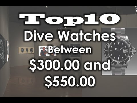 TOP 10 dive watches under $550.00