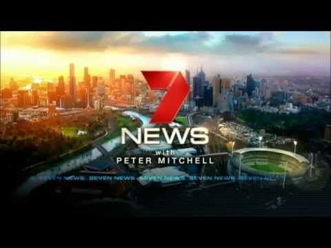 Seven News Melbourne: Opener, Crossovers & Weather (6/7/2015)