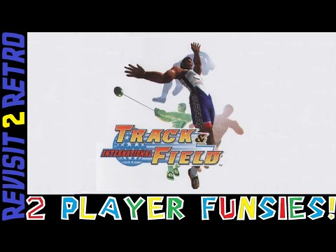 2 Player Funsies: International Track and Field (PS1)