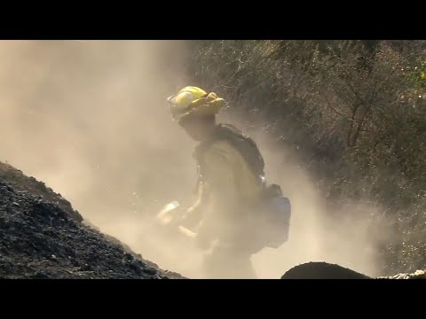 Strong Winds Add To California Fire Danger