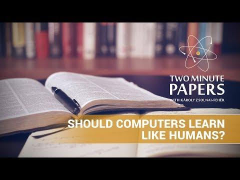 Should Computers Learn Like Humans?