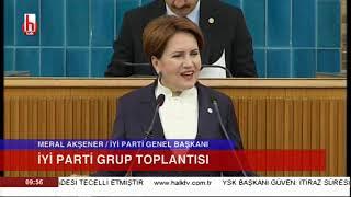 İYİ Parti Grup Toplantısı 25 Haziran / Akşener'den tarihi zafer sonrası AKP'ye göndermeler