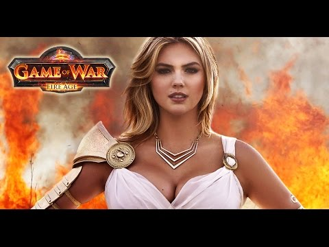 Game of war live action trailer commercial ft kate upton youtube