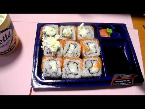 Как сделать суши из магазина вкуснее=)