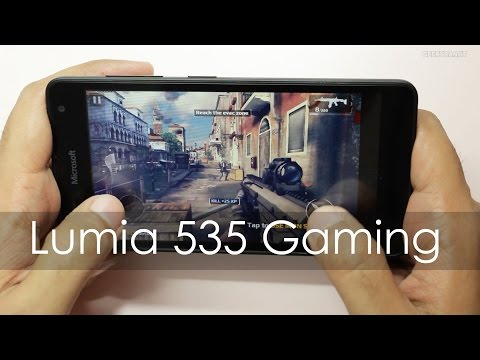 Microsoft Lumia 535 Budget Windows Phone Gaming Review