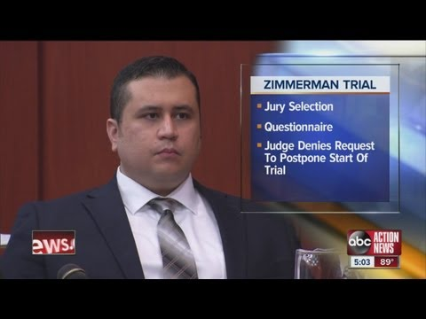 Day 1 of jury selection in Zimmerman trial