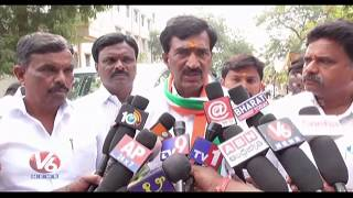 Congress Candidate Vanteru Pratap Reddy Says CM KCR Trying To Tampering EVMs | Siddipet