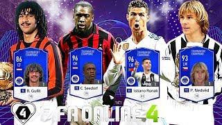 FIFA Online 4: Lần Đầu Trải Nghiệm Clarence Seedorf TC & C. Ronaldo TC & Gullit TC & Nedved TC
