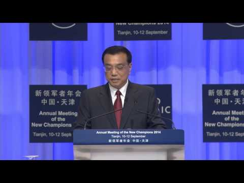 China 2014 - Opening Plenary with Premier Li Keqiang