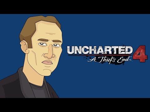 Nicolas Cage Plays Uncharted 4