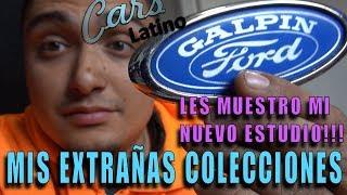 Mis Extrañas Colecciones! Les Muestro Mi Nuevo Estudio! (Vlog) *CarsLatino*
