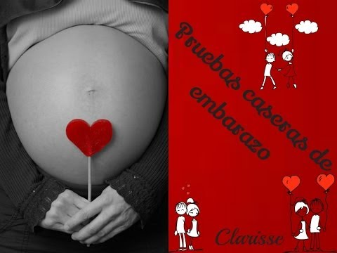 Pruebas de embarazo caseras/ Domestic pregnancy tests