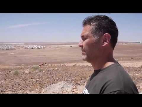 Khaled Hosseini, UNHCR Goodwill Ambassador, in Jordan with Syrian Refugees.