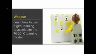 Webinar: Learn how to use digital learning to accelerate the 70-20-10 learning model