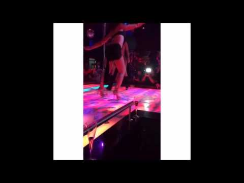 Mya At Miami Club G5 Stripping and Shaking Dat Ass For Few Chainz @fewchanztv