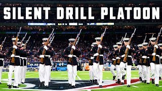 Silent Drill Platoon Performs at Halftime on Thursday Night Football - Texans vs. Colts
